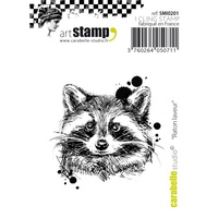 Carabelle Studio Cling Stamp Raccoon
