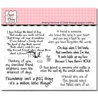 Sweet 'n Sassy Clear Stamps True Friend