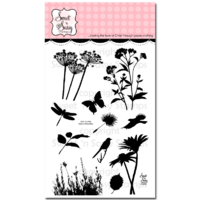 "Sweet 'n Sassy Clear Stamp 4x6"" Nature Silhouettes"