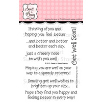 "Sweet 'n Sassy Clear Stamp 3x4"" Wishing You Well"