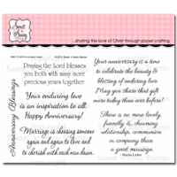 Sweet 'n Sassy Clear Stamps Anniversary Innies