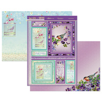 Hunkydory Sparkle & Shine Mirri Magic Topper Set Beautiful Birds