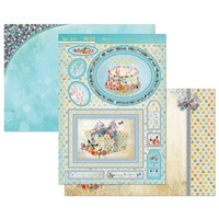 Hunkydory Sparkle & Shine Mirri Magic Topper Set Birthday Wishes