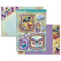 Hunkydory Sparkle & Shine Mirri Magic Topper Set Flights of Fancy