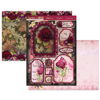 Hunkydory Sparkle & Shine Mirri Magic Topper Set Resplendent Roses