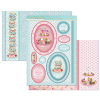 Hunkydory Sparkle & Shine Mirri Magic Topper Set Teatime Treats