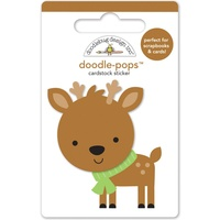 Doodlebug DoodlePops 3D Stickers Sugarplums Dasher