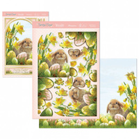 Hunkydory Spring Days & Country Life Deco Large Set Easter Bunny