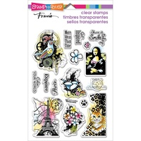 Stampendous Cling Stamps Eclectic Charms