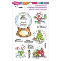 Stampendous Cling Stamps Christmas Visitors