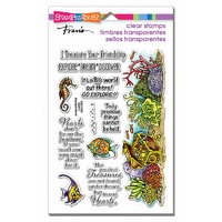 Stampendous Perfectly Clear Stamp Nautical Treasure