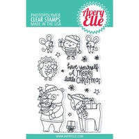 Avery Elle Clear Stamp A Merry Little Christmas