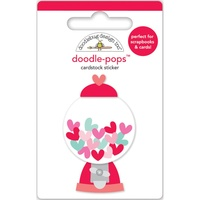 Doodlebug DoodlePops 3D Stickers Sweet Things Penny Candy