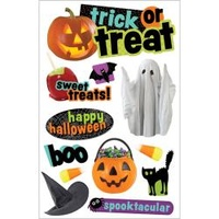 Paper House 3D Stickers Trick or Treat