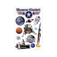 Paper House 3D Stickers Space Cadet