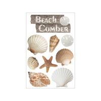 Paper House 3D Stickers Beach Comber
