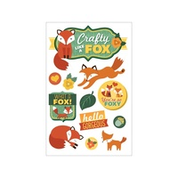 Paper House 3D Stickers Crafty Like a Fox