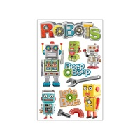 Paper House 3D Stickers Robots