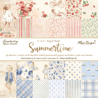 "Maja Design 6x6"" Double Sided Cardstock Pad Summertime"