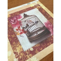 Dove of The East Shanghai Vintage Paper Song Bird