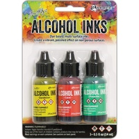 Ranger Alcohol Ink Key West 3pk by Tim Holtz