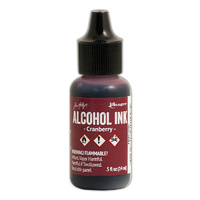 Ranger Alcohol Ink Cranberry by Tim Holtz