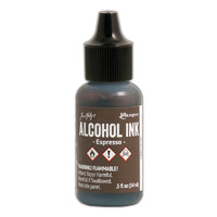 Ranger Alcohol Ink Espresso by Tim Holtz