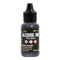 Ranger Alcohol Ink Pitch Black by Tim Holtz