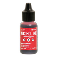 Ranger Alcohol Ink Red Pepper by Tim Holtz
