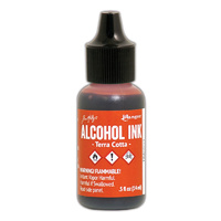 Ranger Alcohol Ink Terra Cotta by Tim Holtz