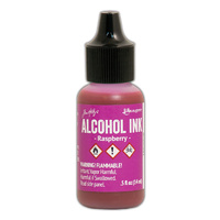 Ranger Alcohol Ink Raspberry by Tim Holtz