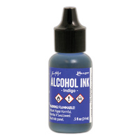 Ranger Alcohol Ink Indigo by Tim Holtz