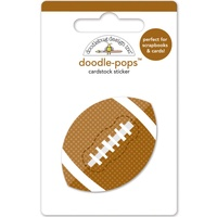 Doodlebug DoodlePops 3D Stickers Touchdown Football