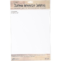 "Ranger Distress Watercolour Cardstock 8.5x11"" 10pk by Tim Holtz"