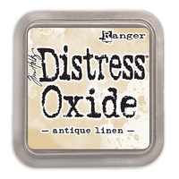 Ranger Distress Oxide Ink Pad Antique Linen by Tim Holtz