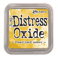 Ranger Distress Oxide Ink Pad Fossilized Amber by Tim Holtz