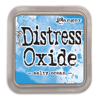 Ranger Distress Oxide Ink Pad Salty Ocean by Tim Holtz