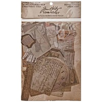 Idea-Ology Ephemera Pack Vellum Thrift Shop by Tim Holtz