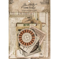Idea-Ology Layers Cards 33pc by Tim Holtz
