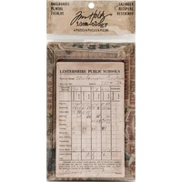 Idea-Ology Bookboard Baseboards 4pc by Tim Holtz