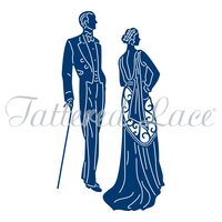 Tattered Lace Die Deco Couple