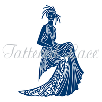 Tattered Lace Die Art Deco Daphne