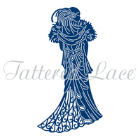 Tattered Lace Die Art Deco Violet