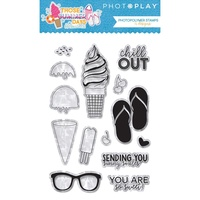PhotoPlay Paper Those Summer Days Photopoymer Stamp