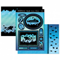 Hunkydory Twilight Under The Sea Luxury Topper Set Enjoy the Adventure