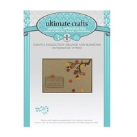 Ultimate Crafts Padova Die Branch & Blossoms