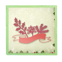 Ultimate Crafts Silent Night Die Christmas Ribbon