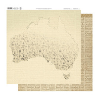 Ultimate Crafts Australiana 2 Paper Nature Map