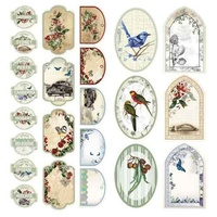 Ultimate Crafts Australiana 2 Chipboard Stickers