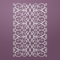 Ultimate Crafts Background Gallery 2 Die Floral Lattice
